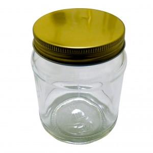 Traditional Screw Neck 1/2lb Honey Jar - Pack of 35