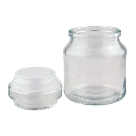 250ml/8oz Jar with Round Knobstopper - Pack of 16