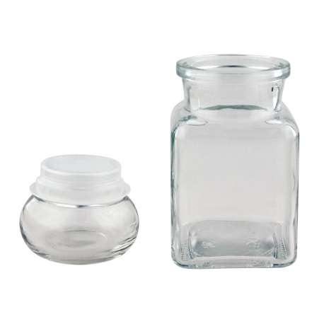 150ml/6oz Jar with Square Knobstopper - Pack of 16