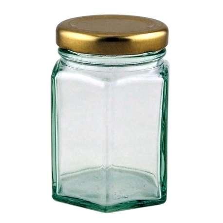 4oz Hex (Hexagonal) Jar - Pack of 63
