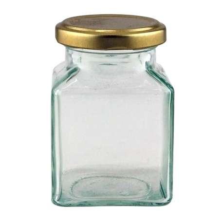 8oz Square Jar - Pack of 36