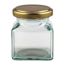 4oz Square Jar Pack of 42