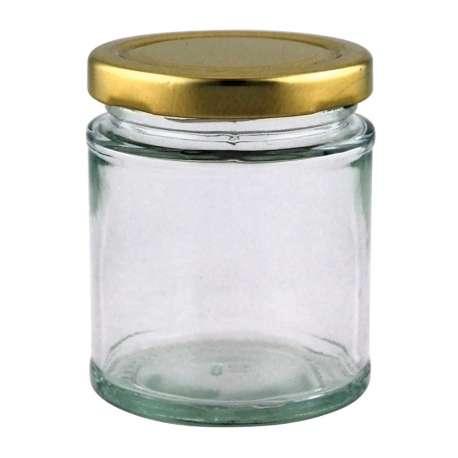 8oz Round Jar - Pack of 525