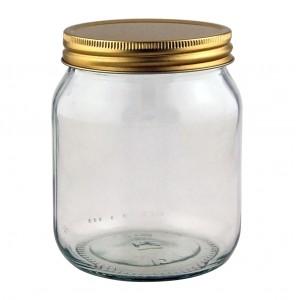 Traditional Screw Neck 1lb Honey Jar - Pack of 24
