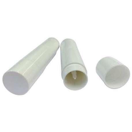 4.3gm White Lip Balm Tube - Pack of 50