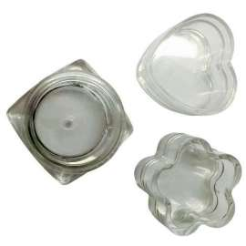 4ml shaped plastic ointment jar - Pack of 42