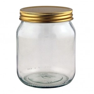 Traditional 1lb Honey Jar - 1008 jars & lids
