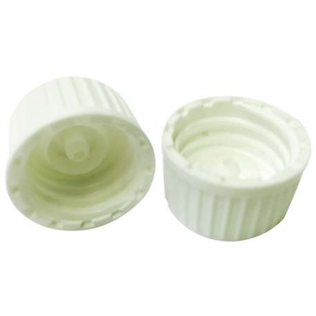 GL18 White non-tamper evident self-seal cap  - Pack of 100