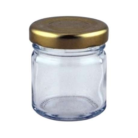 1.5oz Round Mini Jar - 126 Pack