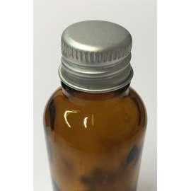 GL18 Aluminium dropper bottle cap  - Pack of 100