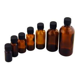 5ml Amber Dropper Bottle - Pack of 186