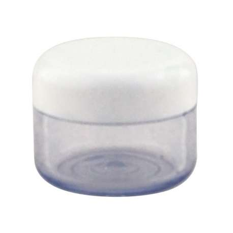 15ml Plastic Opal Jar - Pack of 100