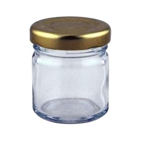 1.5oz Round Mini Jar - 126 Pack