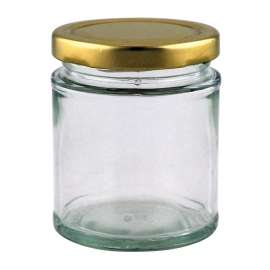 8oz Round Jar - Pack of 35