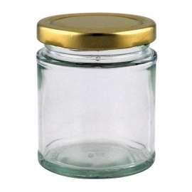 8oz Round Jar - Pack of 35